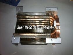 电子热管散热片